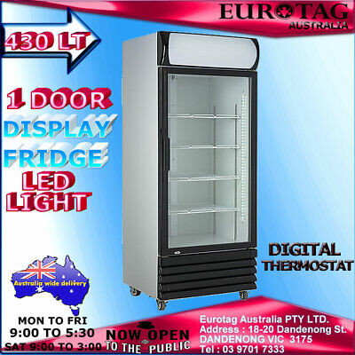 Eurotag 430Lt Commercial Upright Display Fridge Eu-450 Rrp$1199.00 Brand New