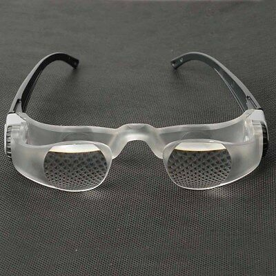 2.1X Magnifier Presbyopic Glasses Adjustable Diopter Watch TV-glasses Loupe