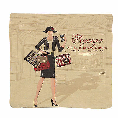 "Wholesale Job Lot 10x Cushion Covers Designer ""Eleganza"" Tapestry 18"" (45cm) New"