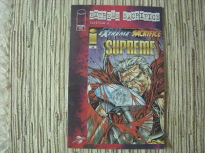 1995 Bagged with Trading Card Team Youngblood No.17 Extreme Sacrifice Part 7