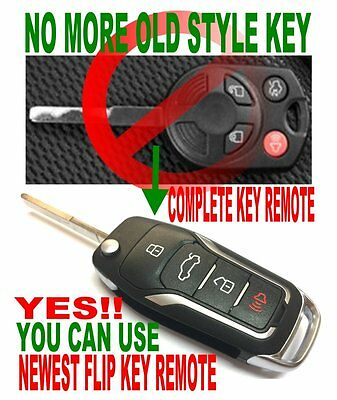 NEW DESIGN FOR 2013~17 FORD Escape ALin1 FLIP CHIP KEY KEYLESS ENTRY REMOTE FOB