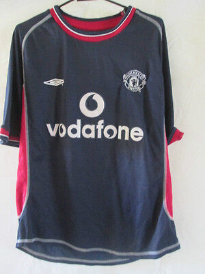 Manchester United 2000-2001 Away Football Shirt Size Youths /13298
