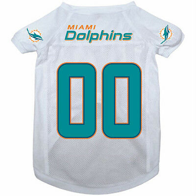NEW MIAMI DOLPHINS PET DOG MESH FOOTBALL JERSEY ALL SIZES LICENSED