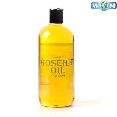 Rosehip Organic Carrier Oil 100% Pure 500ml (CO500ROSE)