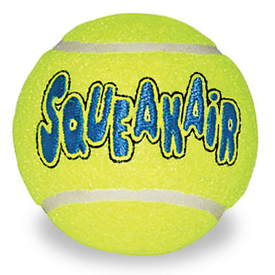 Kong Air Dog Squeaky Tennis Ball Squeakair X Small, Small, Medium & Large Balls