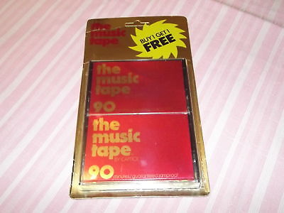 2 The Music Tape by Capitol Cassette Tape Vintage Genuine NOS NEW!!!