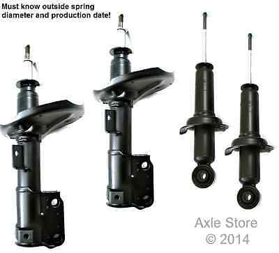 4 New Struts Full Set Fit 1.8L Mirage Only Ltd lifetime Warranty Guarantee Fit