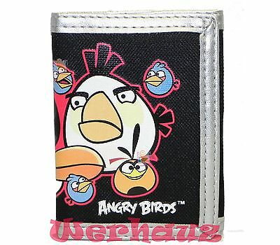 Angry Birds trifold boys wallet 05610 Black, New