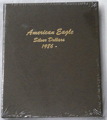 Dansco American Silver Eagle Dollars Album #7181 Four Pages 1986-2021