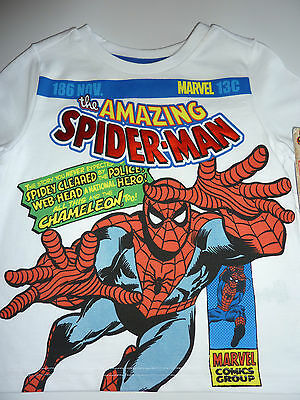 SPIDERMAN White T-Shirt NWT
