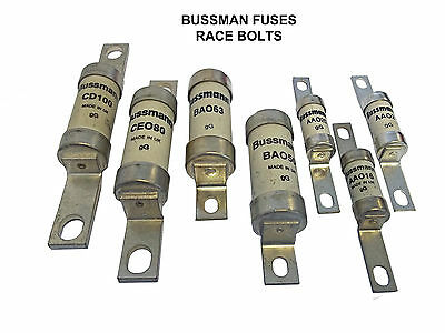 Cooper Bussman Circuit Protection Bolt Fuses - Varierty Of Styles To Choose From