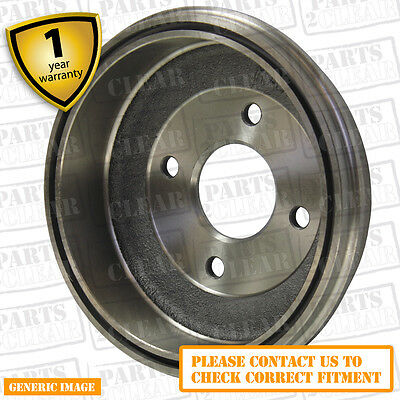 Vauxhall Combo 01-04 1.7 DTi DTi MPV DTI 74 Rear Brake Drum Single 230mm TRW