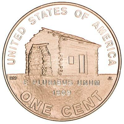 2009 S Lincoln Cent Log Cabin Early Childhood Proof Penny