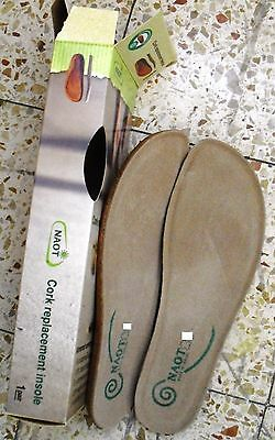 NEW NAOT ORTHOTIC cork replacement insole 37/L6 KORU