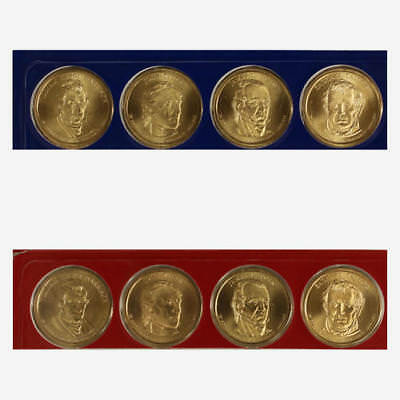 2009 P D Presidential Dollars BU US Mint Cello Satin Finish 8 Coin Set