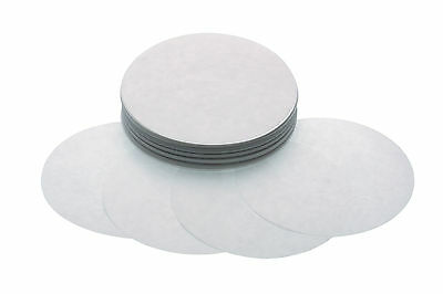 250 WAX DISCS from Kitchen Craft Burger Veggy hamburger  WAXED PAPER DISCS 8.5cm