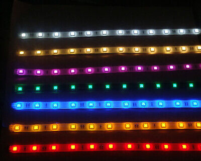 LED Strip Light Set With Optional PP3 Battery Box In 7 Colours & 6 Lengths