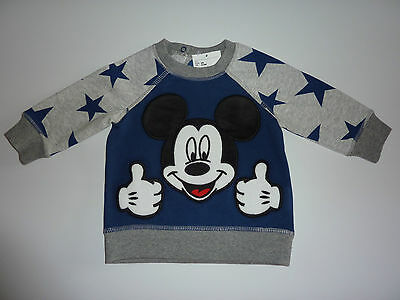 MICKEY MOUSE Cute Little Sweatshirt 4-6 Months NWT
