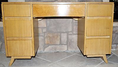 Eliel Saarinen RWay Furniture Co Vanity Birds Eye Maple Mid Century