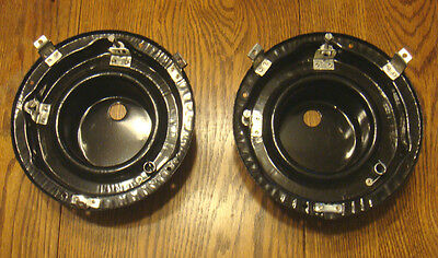 1956 CHEVY HEAD LIGHT LAMP BUCKETS  , new  Pair