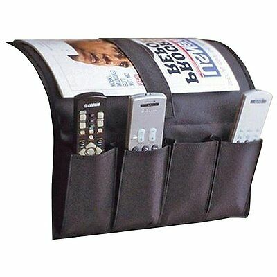 New Remote Caddy Fabric Sofa Couch Chair Arm Holder TV Control Bedside  Organizer