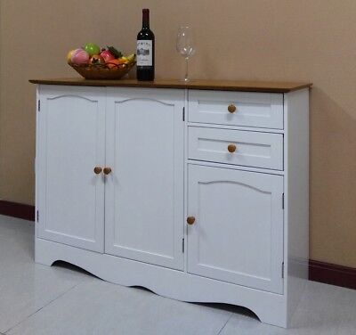 Free Postage Buffet Sideboard Hall Table Kitchen Cupboard Dressers Cabinet,001