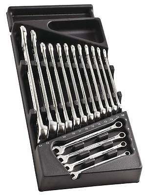 FACOM MOD.440-1  16 Pce Combination Spanner Wrench Set 6-24mm in Plastic Tray