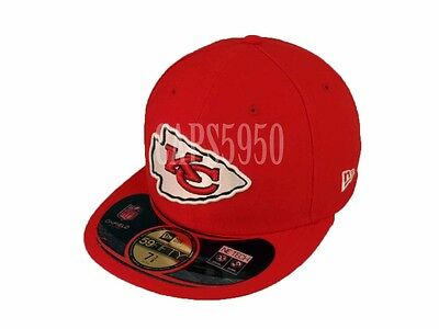 58ccb94c KANSAS CITY CHIEFS Sideline Cap New Era 59FIFTY Fitted NFL On-Field Hat  Football