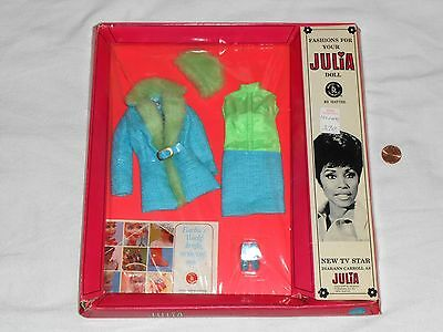 NEW Fashions for your Julia Doll # 1752 Brrr Furrr Clothing Outfit Barbie 1968