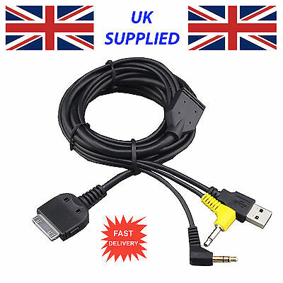 Último Para Kenwood Kca-ip300v Ipod Iphone Cable Ddx7039 Cable Repuesto