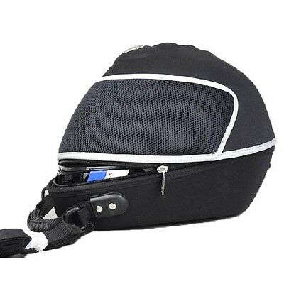 Black Helmet Bag PRO-BIKER Motorcycle  Backpack Luggage Case Backpack Knight
