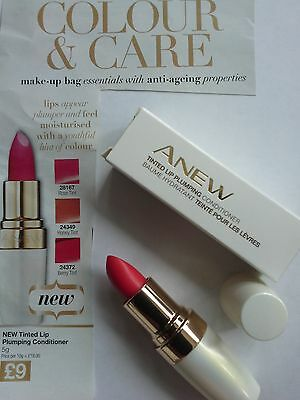 Avon Anew Tinted Lip Plumping Conditioner ~ Brand New In Box~  Look Free Postage