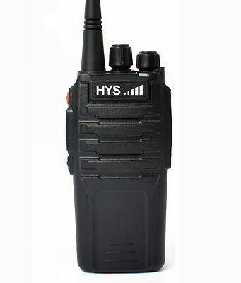 10W Mobile VHF UHF Ham Radio with Programming Cable and Software