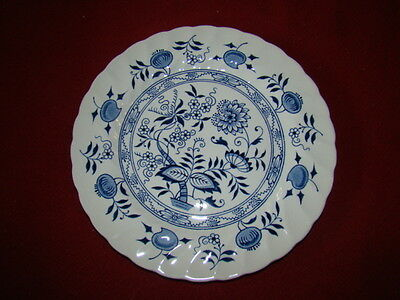 WOOD & SONS BLUE FJORD LOT OF 2 DINNER PLATES EXCELLENT