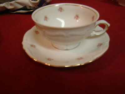 WINTERLING ROSEDOT  LOT OF 1 CUP & 2 SAUCERS VERY GOOD FREE U.S. SHIPPING