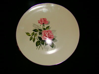 TAYLOR SMITH TAYLOR SUMMER ROSE LOT OF 2 DINNER PLATES EXCELLENT