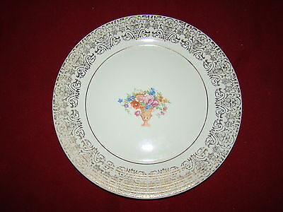 AMERICAN LIMOGES JULIET DINNER PLATE VERY GOOD FREE SHIPPING!