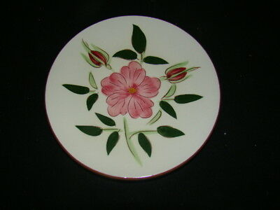 STANGL POTTERY WILD ROSE LOT OF 4 BREAD PLATES