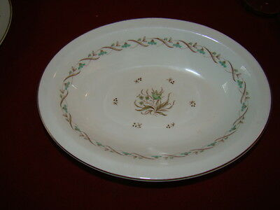 Royal Doulton Golden Spice Oval Serving Bowl 10 3/8""