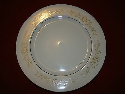 FINE CHINA JAPAN CARRIAGE HOUSE ELOQUENCE LOT OF 2 DINNER PLATES  FREE SHIPPING!