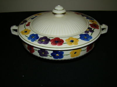 RIDGWAY EVERGLADES ROUND COVERED SERVING BOWL
