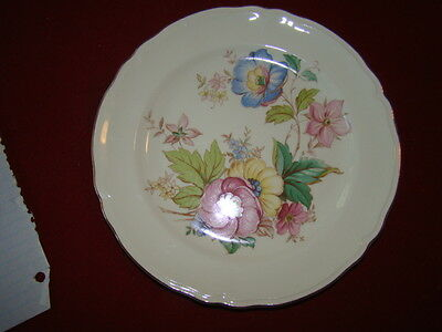 KNOWLES WHITNEY  LOT OF 4 BREAD PLATES 6""
