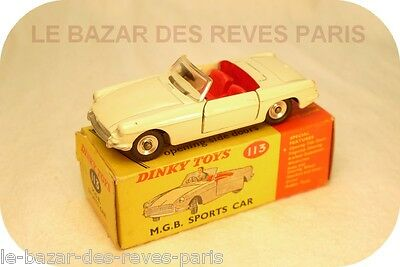 DINKY TOYS  M.G.B cabriolet  REF: 113