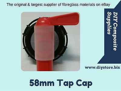58mm Plastic Cap Tap for 20Lt cubes (FREE FREIGHT)