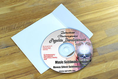 Psychic Development  Develop Intuition Clairvoyance Best Music Subliminal CD