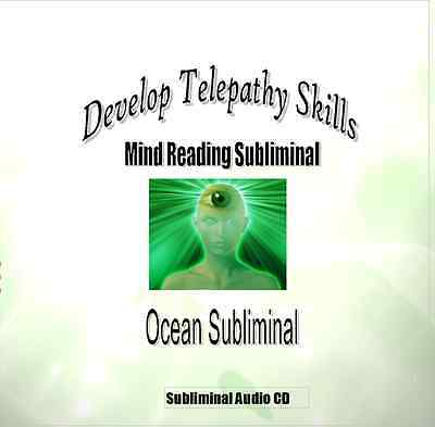 Develop Telepathy Skills - Mind Reading Subliminal CD with Brainwaves and NLP