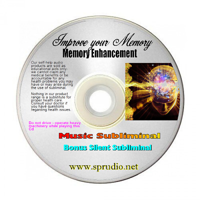 Improve your Memory - Develop a Photographic Memory- Memory Help Subliminal CD