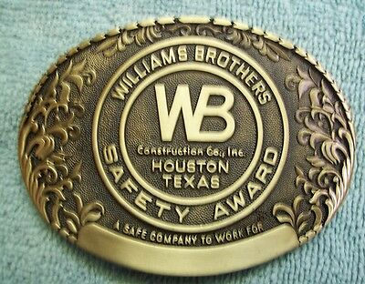 Award Design Medals Presents Williams Brothers Construction Co. Houston Tex [401