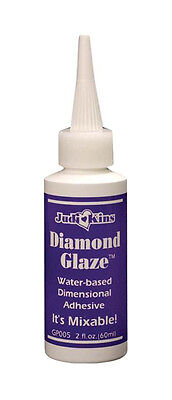 Judikins Diamond Glaze 2 fl oz. Water-based Dimensional Adhesive