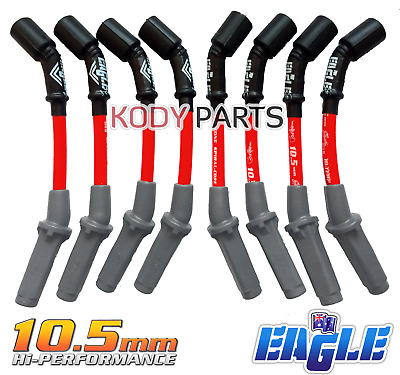 IGNITION LEADS 10.5mm - for Commodore VZ, VE 6.0L V8 LS2 Gen4 Chev E1058766R